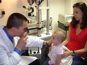 The InfantSee Program provides complimentary eye examinations to all children during their first year of life.